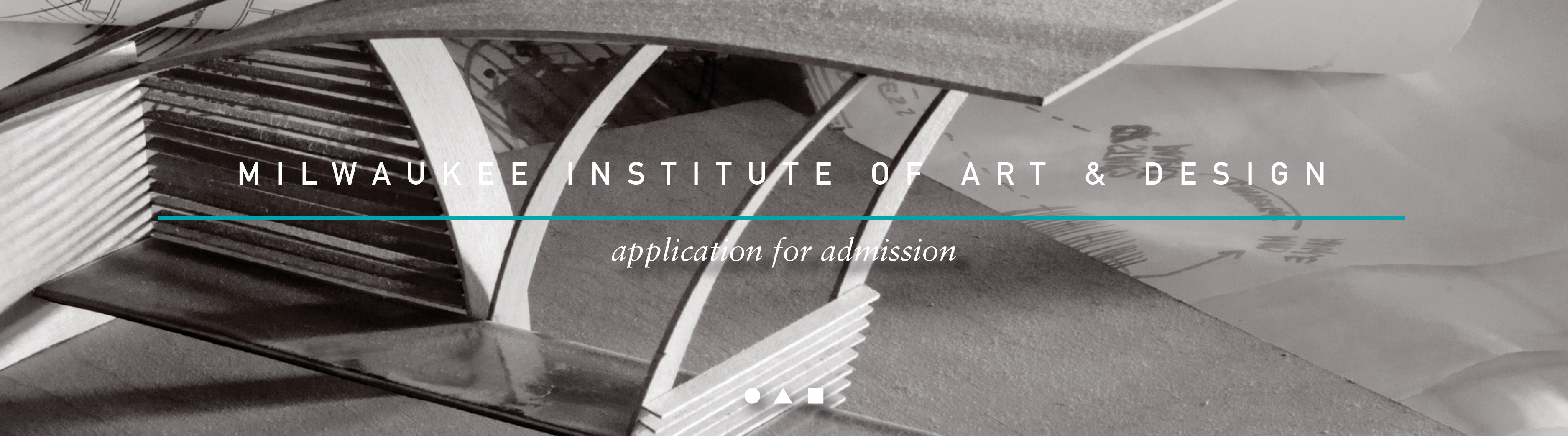 Milwaukee Institute of Art&Design Header Image